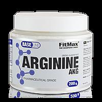 Аминокислоты аргинин Base Arginine AKG 200g FitMax