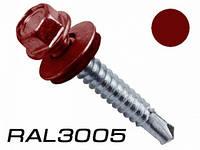 Саморез по металлу Wkret-Met 5,5x25 RAL 3005 250шт