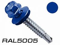 Саморез по металлу Wkret-Met 5,5x25 RAL 5005 250шт