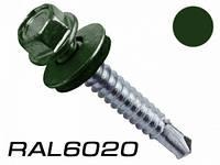 Саморез по металлу Wkret-Met 5,5x25 RAL 6020 250шт