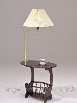 Журнальный стол с лампой W-12 SR-0752