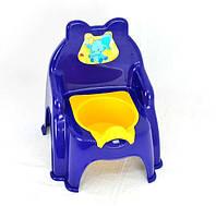Детский горшок стульчик для мальчика