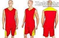 Форма баскетбольная мужская Star LD-8093-2 (красный)