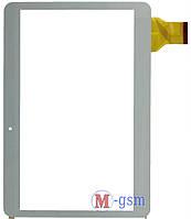 "Тачскрин (сенсорный экран) 10,1""  (p/n: ZJ-10019A, YJ156FPC-V0, YLD-CEGA300-FPC-AO) белый"