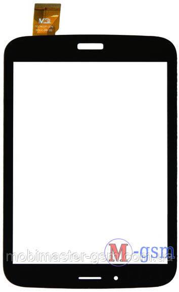 "Тачскрин (сенсорный экран) 8 "" SAMSUNG (p/n: QL07-49 B FPC H, TCLHCTP-375, ZY-26 0037V0 0720) черный"