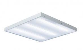 LED светильник 600х600мм HOROZ ELECTRIC накладной призматичный TURKUAZ 36W 4200K