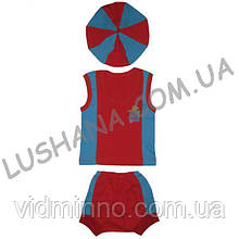 Летний костюм Капитошка на рост 74-80 см - Кулир