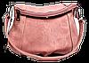 Милая женская сумочка розового цвета на плечо NUU-042456