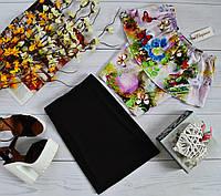Костюм: Топ-трансформер(3 варианта носки) с ярким принтом:сказочные бабочки + юбка черная