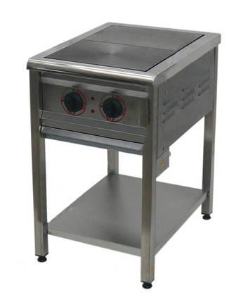 Плита електрична Арм-Еко ПЕ-2 нерж., фото 2