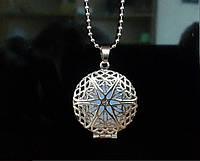 [ Кулон Серебро светящийся ] Винтажный кулон на шею