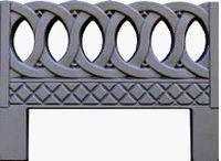 Форма для изготовления оградок №6