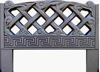 Форма для изготовления оградок №7