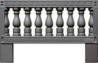 Форма для изготовления оградок №9