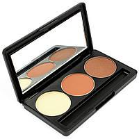 Набор теней для век 3 цвета Beauties Factory Eyeshadow Palette #01 - NEUTRAL NUDE