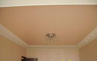 Натяжной потолок матовый