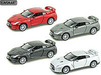 "Модель легковая  5"" NISSAN GT-R R35 (2009) метал.инерц.откр.дв.1:36 кор. ()"