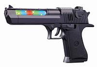 Пистолет батар. свет,звук,в пакете 14*16