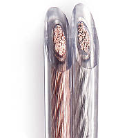 Акустический кабель прозрачный RVB 2x1,5 мм²