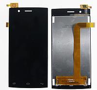 Оригинальный дисплей (модуль) + тачскрин (сенсор) для Fly FS451 Nimbus 1 (черный цвет)