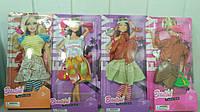 """Набор платьев для кукол """"Barbie"""" (коробка 12 шт.) р.25*13*2см ()"""