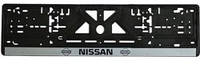 Рамка номерного знака, NISSAN фарбована
