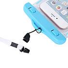 Водонепроницаемый чехол для смартфонов до 5,5 '' голубой, фото 3