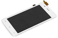 Оригинальный дисплей (модуль) + тачскрин (сенсор) для Fly FS451 Nimbus 1 (белый цвет)