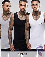 Майка борцовка мужская Nike 3 цвета