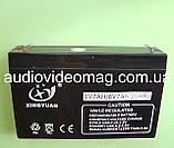 Аккумулятор 6V, ёмкость 7 Ah, фото 2