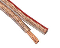 Акустический кабель прозрачный RVV 2x2,0 мм²