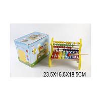 Счеты-ксилофон в пакете 23,5*16,5*18,5см