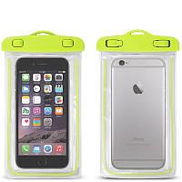 Водонепроницаемый чехол для смартфонов до 5,5 '' зеленый, фото 1