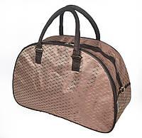 Женская сумка-саквояж среднего размера (код 87-1548)