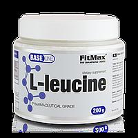 Аминокислоты ВСАА лейцин L-Leucine 200g FitMax