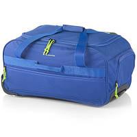 Дорожная - спортивная сумка на колесах: средняя - Gladiator Expedition M-0668, синяя