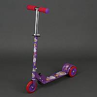 Самокат София для детей 3-6 лет, 3 колеса 12,5 см, PVC. Детский самокат
