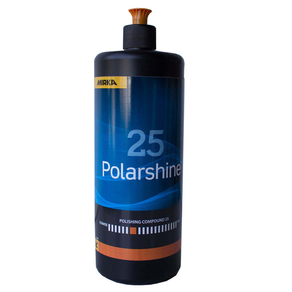 Полировальная паста Mirka Polarshine M25 1 л