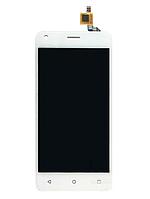 Оригинальный дисплей (модуль) + тачскрин (сенсор) для Fly FS454 Nimbus 8 (белый цвет)