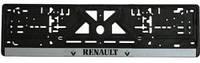 Рамка номерного знака, RENAULT фарбована