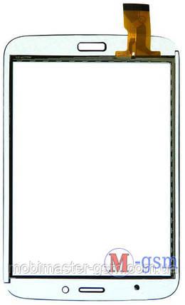 "Тачскрин (сенсорный экран) 8 "" CHINA SAMSUNG (p/n: QL07-49B FPC H) белый, фото 2"