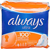 Гігієнічні прокладки Always Ultra Normal Plus 10шт
