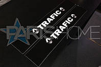 Защитные наклейки на пороги Renault Trafic