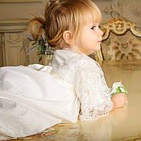 Рубашка для крещения Софья  от Miminobaby от 6 до 12 месяцев