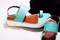 Стильные летние женские комфортные сандалии TroisRois из натуральной турецкой кожи