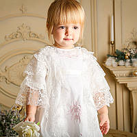 Рубашка для крещения Софья от Miminobaby от 0 до 6 месяцев