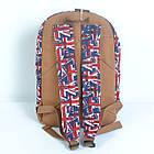 Брезентовый(джинсовый) малый рюкзак Lanpad, фото 4