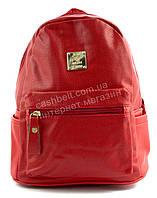 Небольшой стильный прочный оригинальный женский рюкзачек art. A36 красный, фото 1