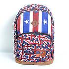 Брезентовый(джинсовый) малый рюкзак Lanpad, фото 3