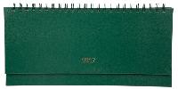 Планінг датований STRONG, 128 стр. зелений